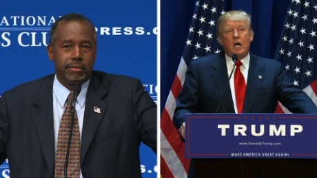Trump and Carson: That was then, this is now