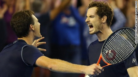 Andy Murray and Jamie Murray: From Brawlers to Bravehearts -- by Mum Judy