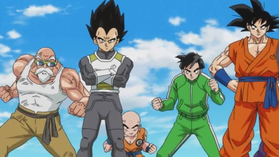 dragon ball z resurrection f ready for home video release cnn video - Dragon Ball Z Com