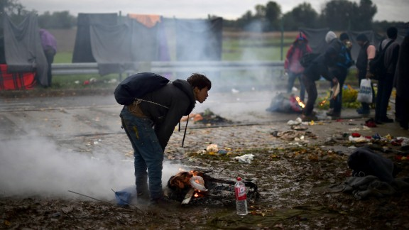 Restrictions on movements through the region have produced bottlenecks at Croatia
