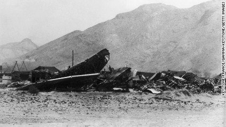 The 1966 disaster at Palomares, Spain, was caused by the midair collision of a U.S. B-52 and a KC-135 refueling plane. The B-52 dropped its payload of four nuclear weapons, two of which released plutonium.