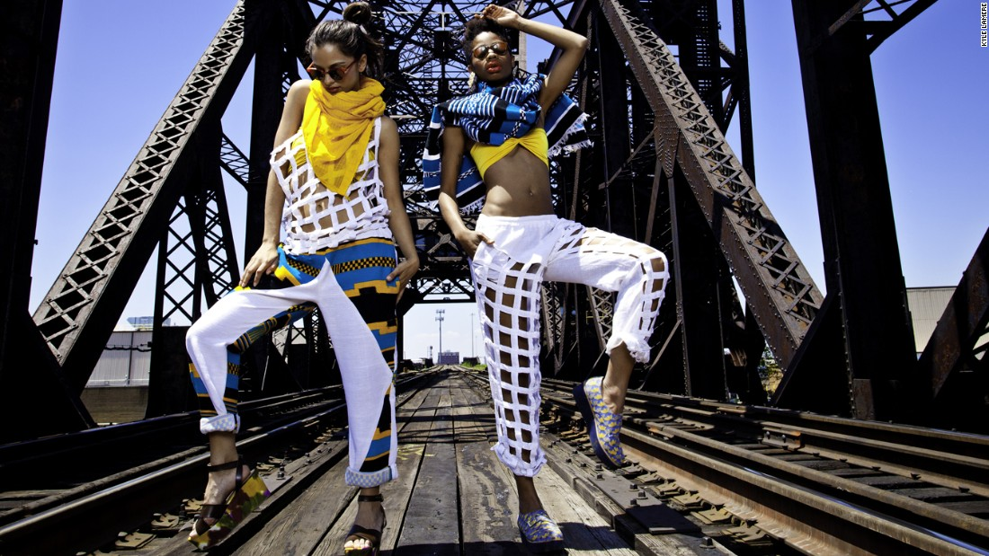 Africa Fashion week: The little town rocking the catwalk - CNN Style