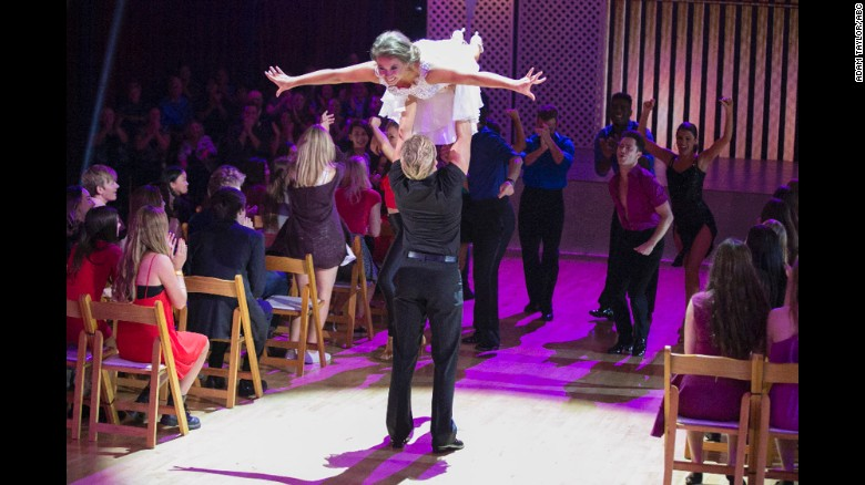 Bindi Irwin perfect in 'Dirty Dancing' routine