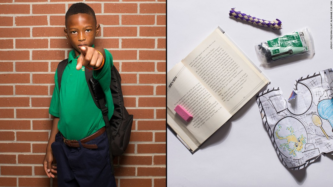 "Lawrence, a second-grade student at KIPP STRIVE Primary, said he's a huge sports fan, so he most often uses his book from Mike Lupica's ""Comeback Kids"" series."