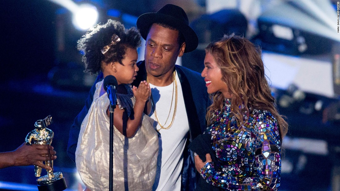 "Rapper Jay Z and singer Beyoncé, seen here with daughter Blue Ivy Carter in 2014, are adding to their family. The singer <a href=""https://www.instagram.com/p/BP-rXUGBPJa/"" target=""_blank"">announced on Instagram</a> she is pregnant with twins."