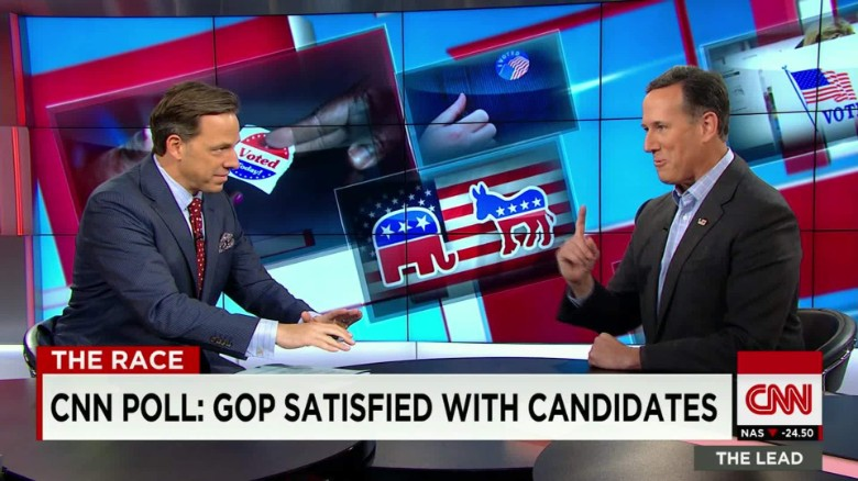 Santorum: Trump is 'feeling his way through' foreign policy