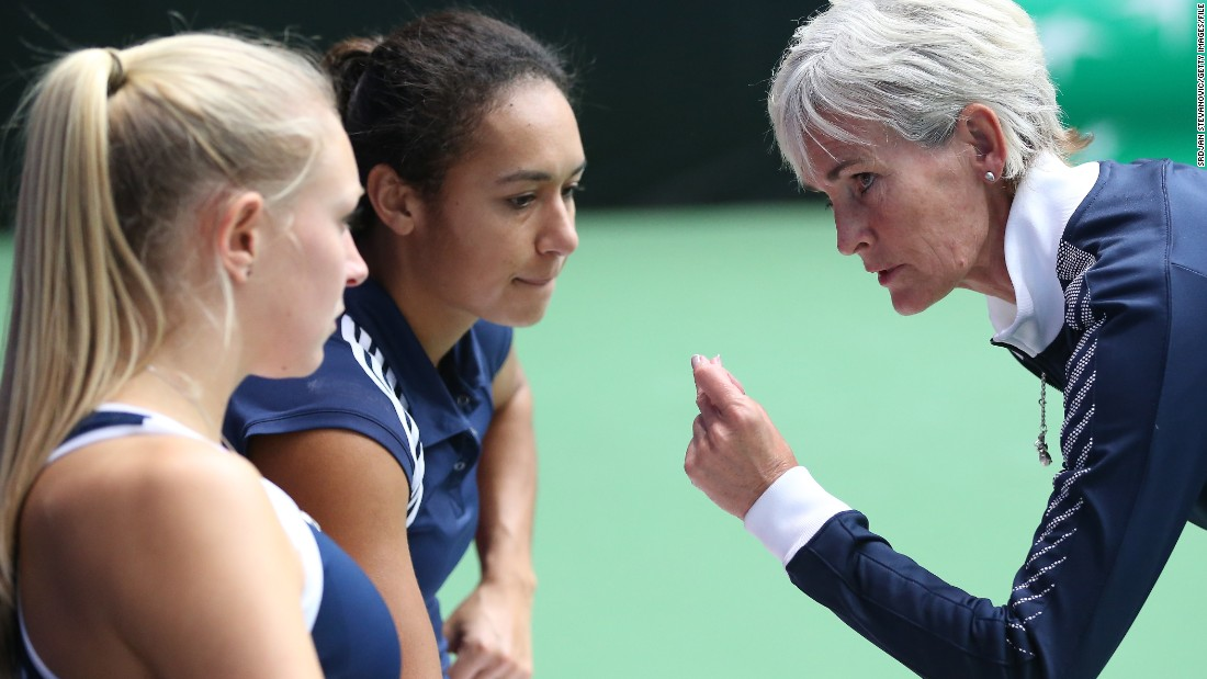 Judy knows a thing or two about team competition, having coached GB's women in the Davis Cup equivalent -- the Fed Cup -- since 2011.