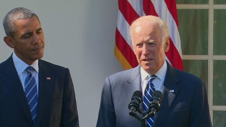Joe Biden: The window to run has closed