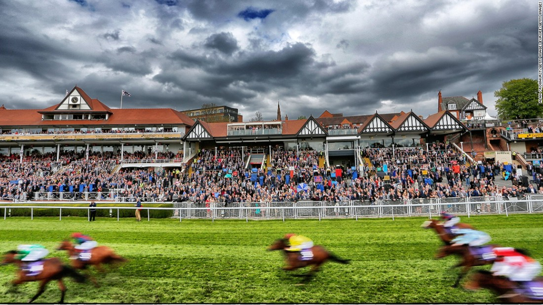 With racing dating back to 1539, Chester is the oldest racecourse in Britain, according to the British Horseracing Authority.