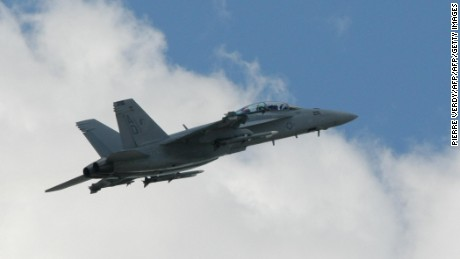 U.S. F/A-18 crashes in UK, pilot killed