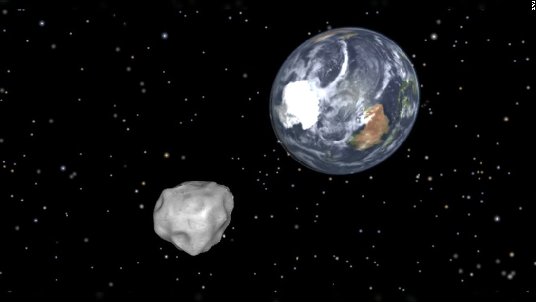 Halloween asteroid 2015 narrowly misses Earth - CNN