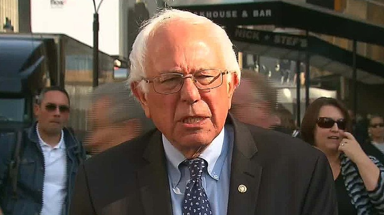 Bernie Sanders: I respect Joe Biden's decision