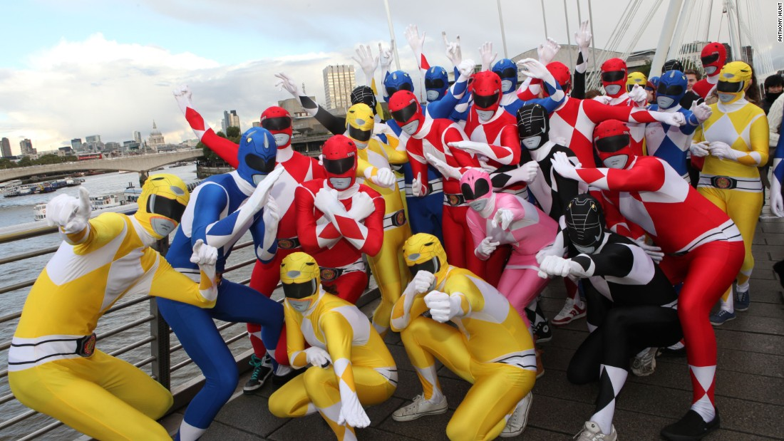 Licensed Power Rangers suits have also been popular.