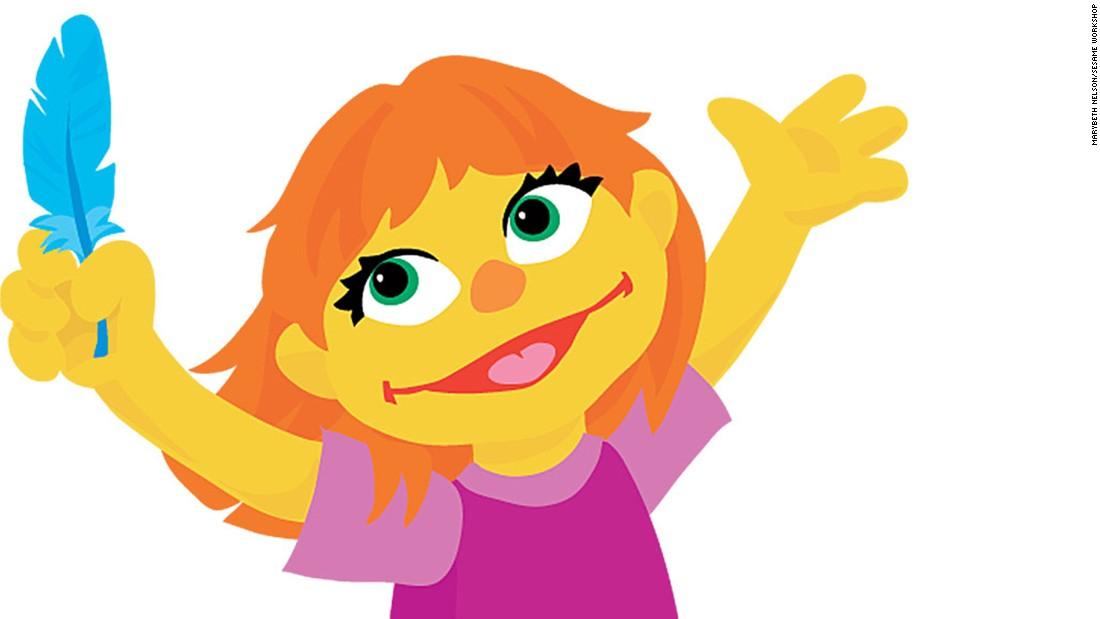 Julia, who has austim, joins the \'Sesame Street\' gang - CNN