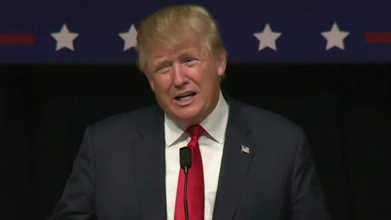 Donald Trump responds to low poll numbers in Iowa