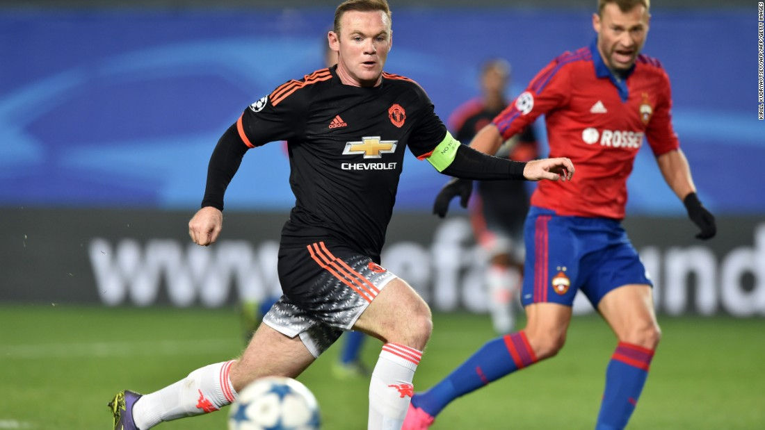 Manchester United secured a 1-1 draw in Moscow after coming from behind against CSKA. Seydou Doumbia fired the Russian side ahead before Anthony Martial equalized for United.