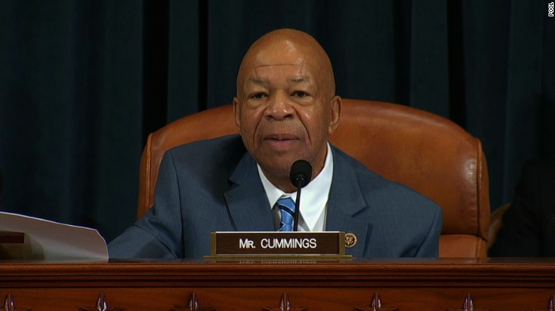 Cummings: Benghazi hearings an attempt to derail Clinton