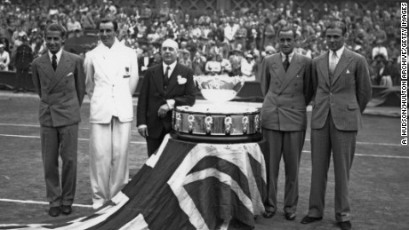 Britain's Davis Cup glory days