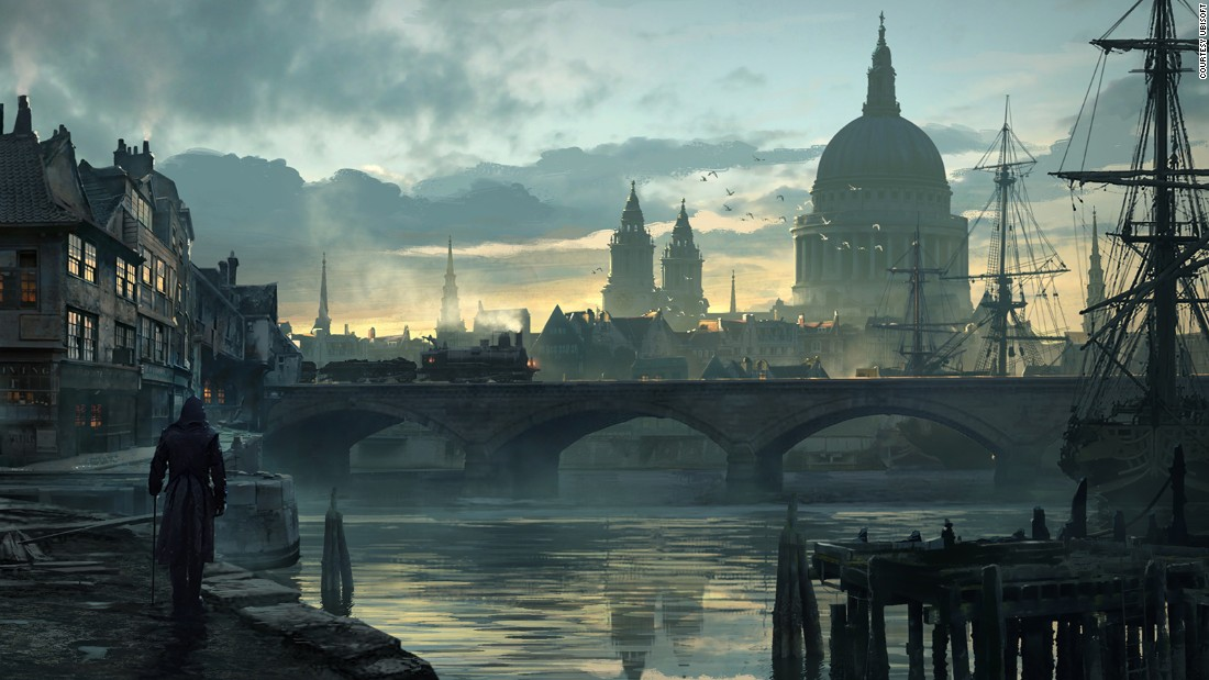 "The new ""Assassin's Creed Syndicate"" video game moves the popular series into more modern times: Victorian-era London. The cinematic game includes many famous London landmarks, including St. Paul's Cathedral, right. It was the tallest building in London during the 1860s."