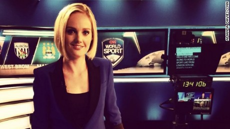 CNN World Sport anchor Amanda Davies has been reporting on football since 2001.