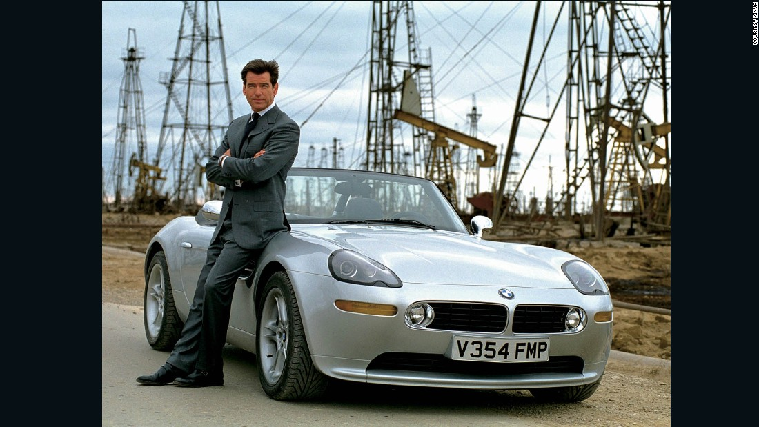 Brosnan-as-Bond is forever linked to BMW, giving him a sort of yuppie-ish air. That and his Italian suits from Brioni. <br />