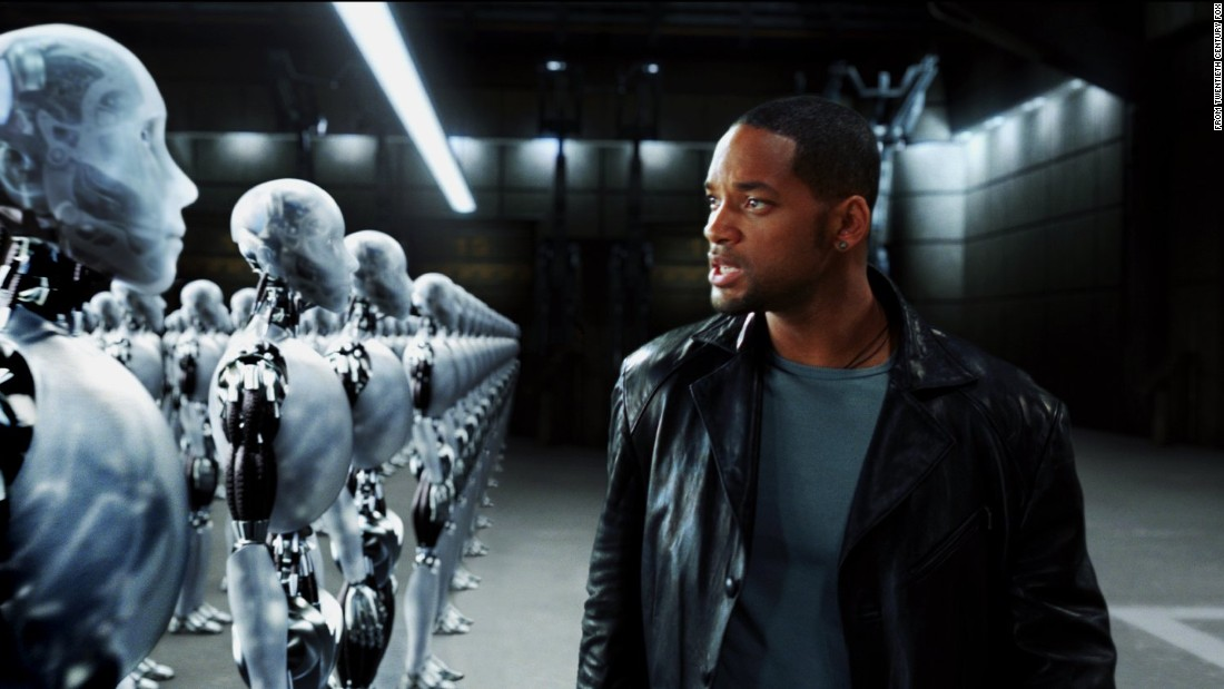 "Will Smith stars in ""I, Robot"" (2004), which takes place in 2035. Smith's future world features robots who take care of almost every human need, but he's forced into action when they band together to protect humanity ... in their own way."