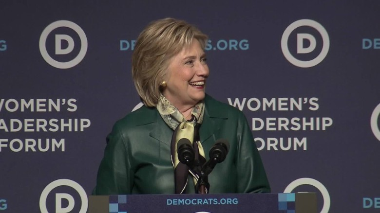 Clinton: I had a pretty long day yesterday