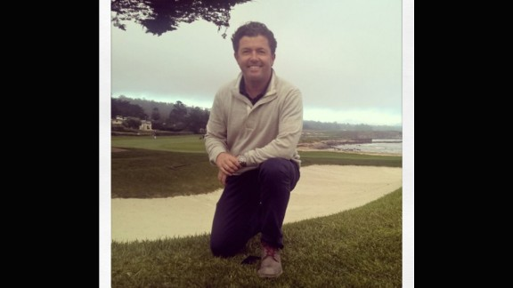 Pebble Beach is clearly a popular choice with our anchors -- CNN Living Golf host Shane O'Donoghue decided it would be on his bucket list too.