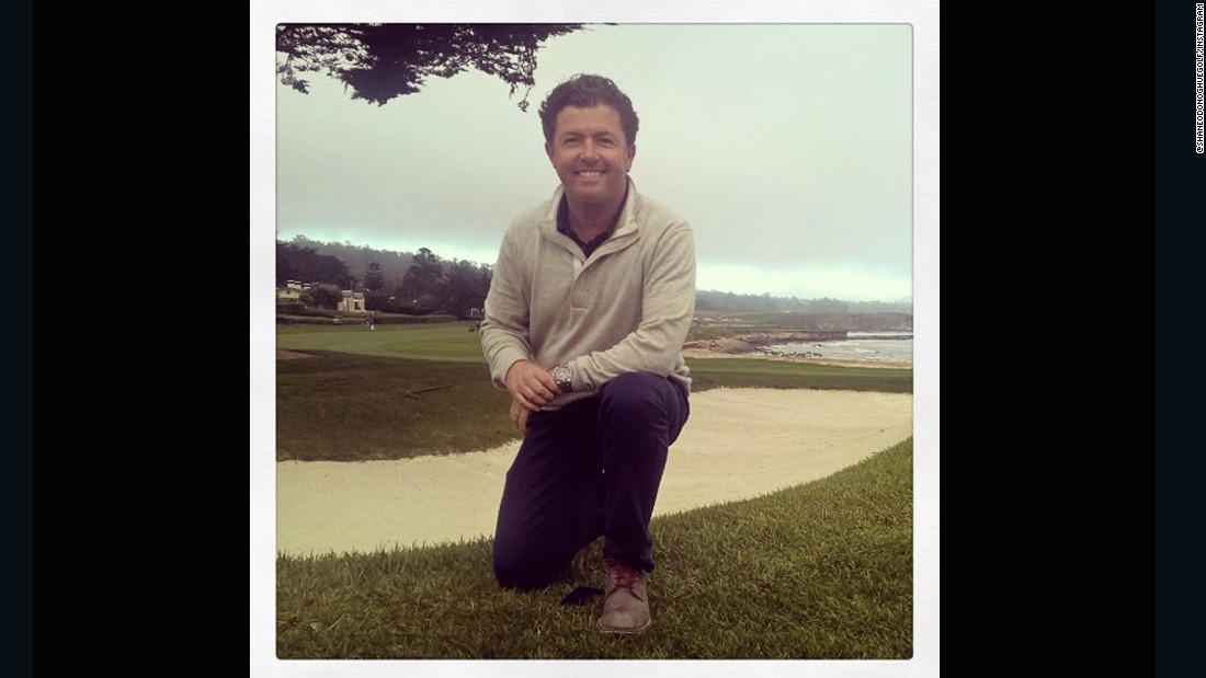 "Pebble Beach is clearly a popular choice with our anchors -- CNN Living Golf host <a href=""https://instagram.com/shaneodonoghuegolf/"" target=""_blank"">Shane O'Donoghue</a> decided it would be on his bucket list too."