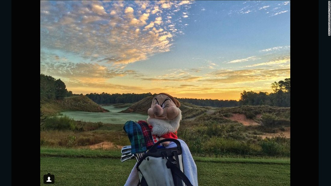 "So good we had to pick it twice. The palette of colors visible in the sky makes this a worthy location for <a href=""https://instagram.com/wickedgolfer59/"" target=""_blank"">@wickedgolfer59</a> to play a round of dawn golf. Although somebody in the foreground clearly isn't too impressed."