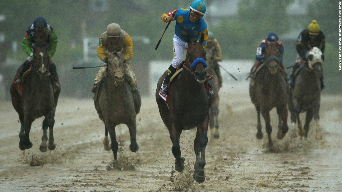 The second leg of the Triple Crown was completed two weeks later in torrid conditions at the Preakness Stakes on May 16.