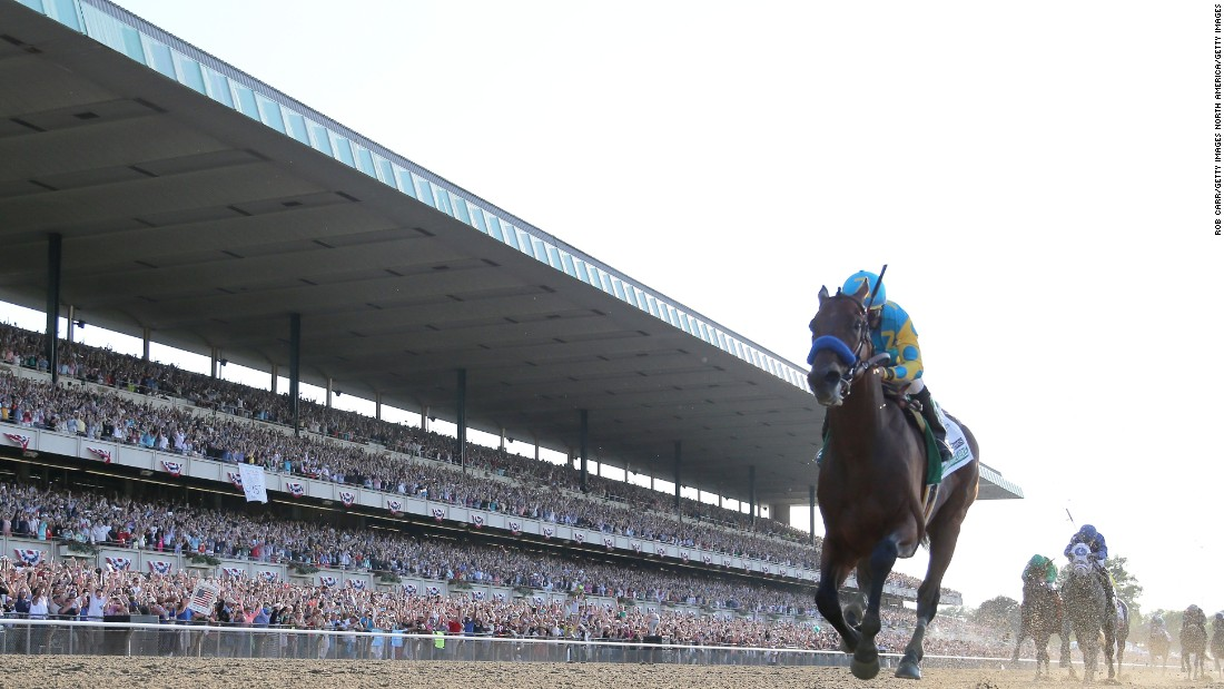 American Pharoah became the first Triple Crown winner for 37 years.