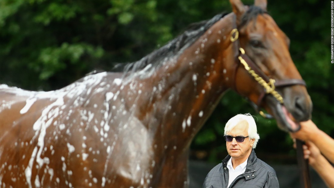 "Bob Baffert has trained three previous winners of the Kentucky Derby, but American Pharoah broke new ground for him. ""I've been fortune to have some really good horses -- he just kept on, he'd bring it every time,"" Baffert told CNN."