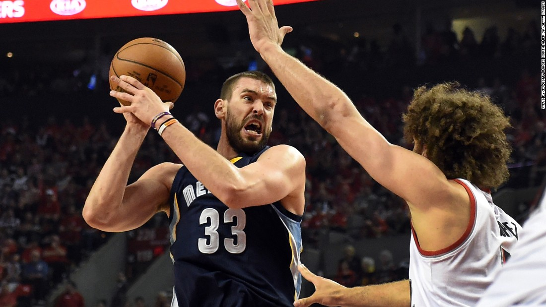 Like Kevin Love, Gasol was one of the most coveted free agents during the offseason, but opted to remain with his team. The Spaniard -- whose time in Memphis stretches back to high school when he accompanied his older brother Pau to the U.S. -- re-signed for five years and $110 million. With those kind of numbers, the Grizz are hoping for championship payback.
