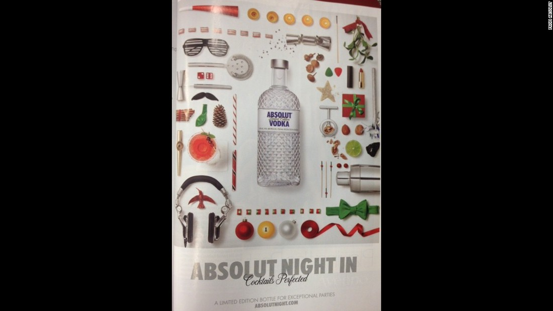 Absolut Vodkas accounted for 10.1% of teens' consumption in a 30-day period.