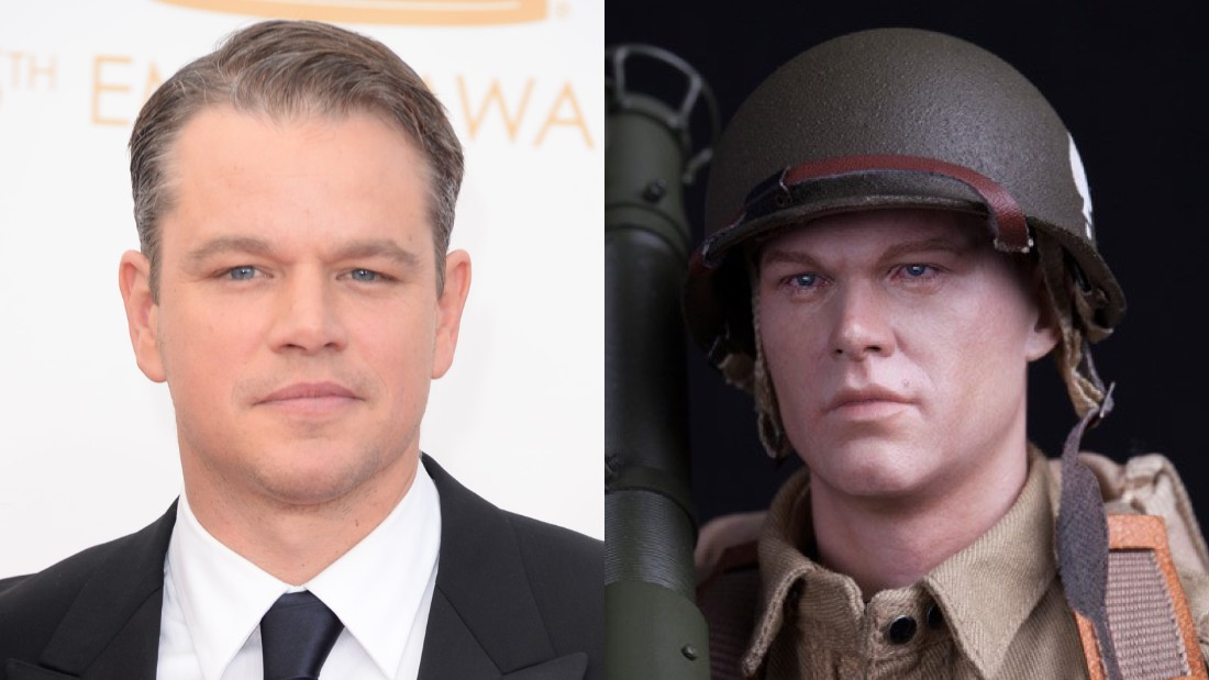 "Which one is ""Saving Private Ryan"" actor Matt Damon, and which is ""Ryan"" from the ""101st Airborne Division"" in DiD's WWI-US figurines?"
