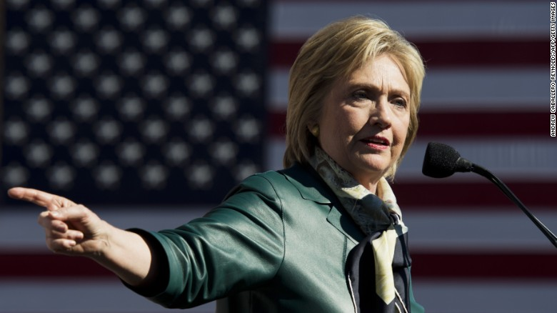 Hillary Clinton's offensive vs. defensive strategy