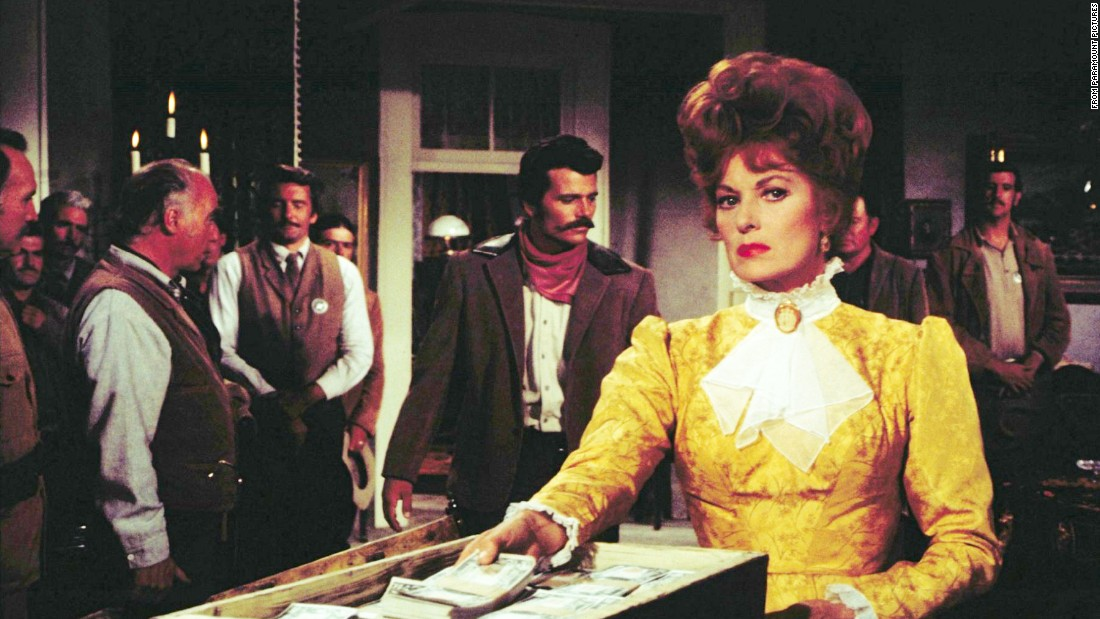 "O'Hara in the 1971 Western ""Big Jake."""