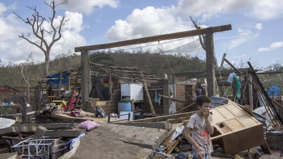 Debris left by Hurricane Patricia litters the Chamela community in the state of Jalisco, Mexico, on Saturday, October 24. Patricia weakened over north-central Mexico, dumping heavy rain that triggered flooding and landslides. By late Saturday afternoon, Patricia had degenerated into a remnant area of low pressure, according to the U.S. National Hurricane Center.