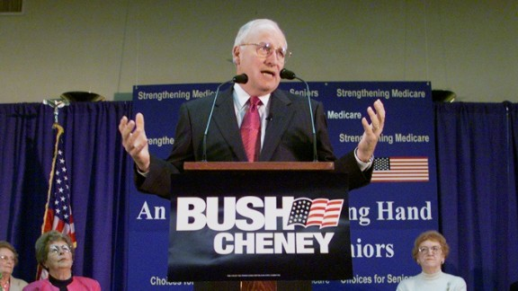 Then: Originally, Dick Cheney declined when George W. Bush asked him to be his running mate. Instead, he offered to help find a potential VP candidate. Months later, Bush extended the offer again, and he accepted.