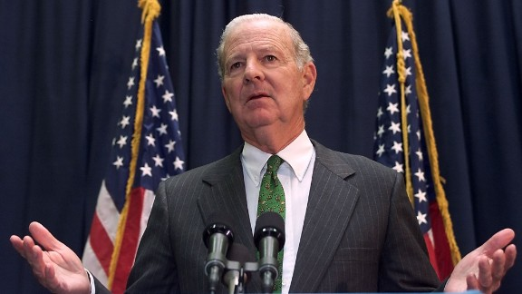 Then: James Baker served as Bush