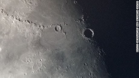 Moon Close up taken by EO Telescopes