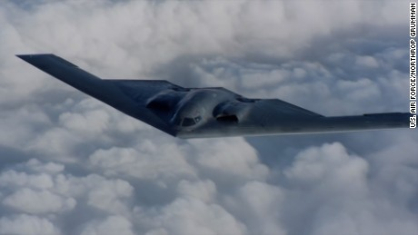 Never-before-seen video of B-2 Spirit stealth bomber