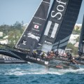 America's Cup Soft Bank racing