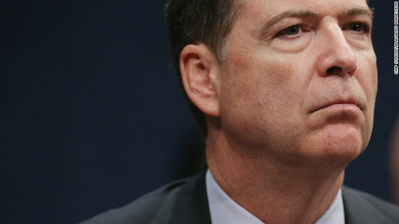 FBI chief links crime spike to 'Ferguson effect'