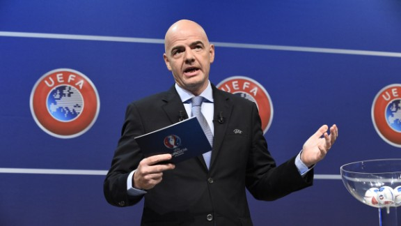 UEFA announced on the day of the deadline that its general secretary Gianni Infantino -- Platini