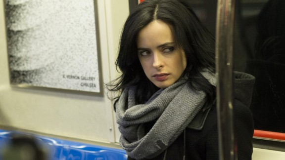 "Krysten Ritter is winning over fans and critics in ""Jessica Jones,"" the story of a semiretired superhero turned private eye based on Marvel Comics"