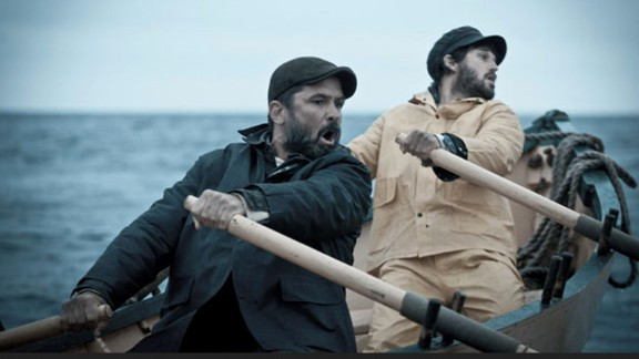 """<strong>""""The Disappeared""""</strong>: Six men find themselves lost at sea after their fishing boat sinks. <strong>(Hulu) </strong>"""