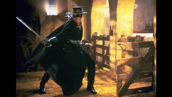 """<strong>""""The Mask of Zorro""""</strong>: Antonio Banderas stars as the legendary hero. <strong>(Amazon Prime) </strong>"""