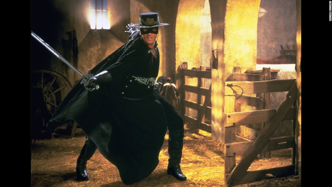 "<strong>""The Mask of Zorro""</strong>: Antonio Banderas stars as the legendary hero. <strong>(Amazon Prime) </strong>"